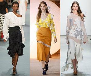 Женствеността – център на вселената от модните трендове на 2017 година